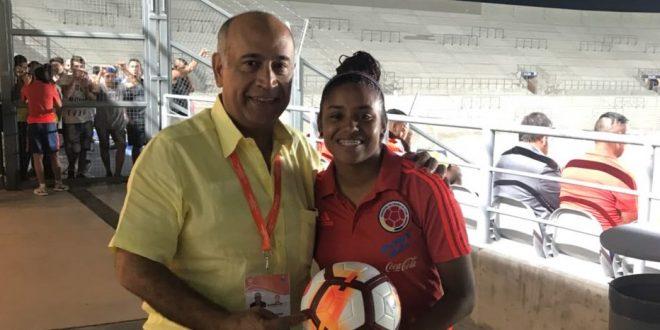La vallenara Mairet Pérez le dio otro  triunfo a Colombia