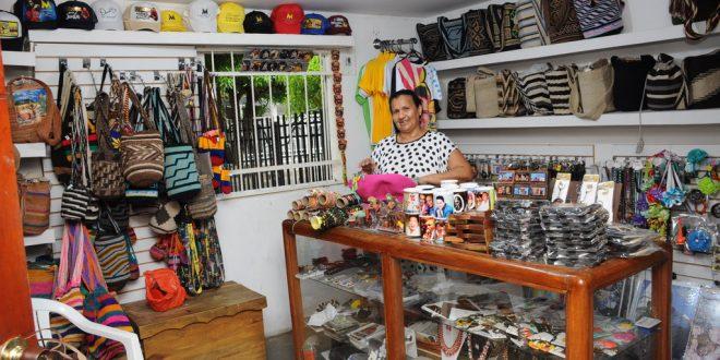 En la casa de 'Mamá Vila'está la tienda 'Diomedista'