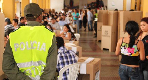 Más de 300 uniformados de la Policía estarán prestando la seguridad en Valledupar para las elecciones