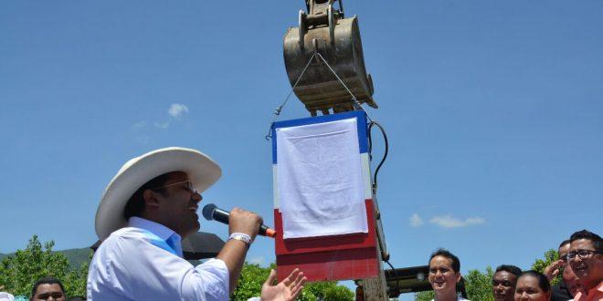 Inició la remodelación de la Plaza de Patillal