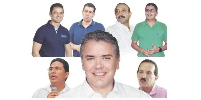 Los responsables del triunfo de Duque en Valledupar