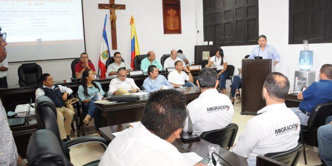 En el Concejo de Valledupar se trató la problemática de migración de venezolanos a la ciudad