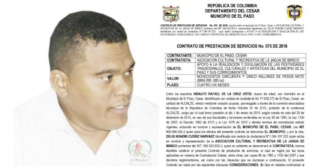Hidalfo De La Cruz, el alcalde 'derrochón'