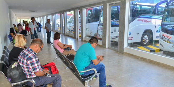 Más de 80 mil personas y 10 mil vehículos circularon por la Terminal de Transportes de Valledupar
