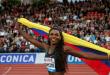 Caterine Ibargüen, candidata a mejor atleta del año de la Iaaf