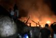 Repudio en Atanquez por la quema de una casa kankuama