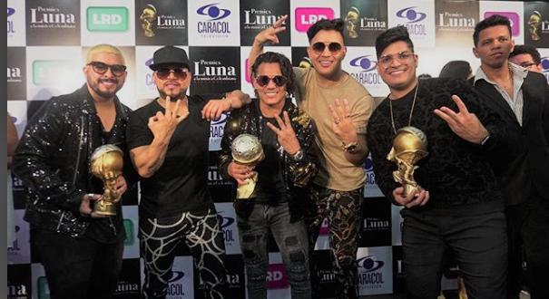 Grupo Kvrass los ganadores de Los Premios Luna