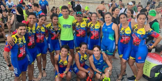 'Coffee' y su equipo de Ironman