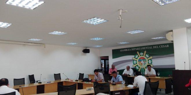 Asamblea Departamental del Cesar estudiará cinco proyectos en extras