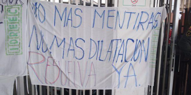 Trabajadores del Idreec vuelven protestar