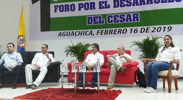 Candidatos de la 'Gran Alianza por el Cesar' realizaron foro en Aguachica