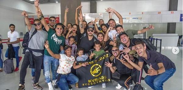 Grupo Kvrass partieron a Chile para el Festival Viña del Mar